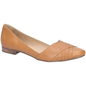 Chaussures Femme Ballerines / babies Hush puppies  Marron claire