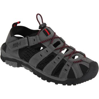 Chaussures Garçon Sandales sport Pdq  Gris/Rouge