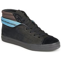 Chaussures Homme Baskets montantes Bikkembergs PLUS MID SUEDE Noir