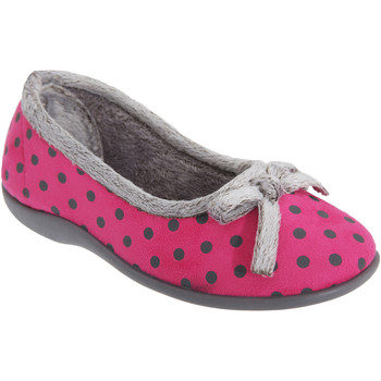 Chaussures Femme Chaussons Sleepers Polka Rose