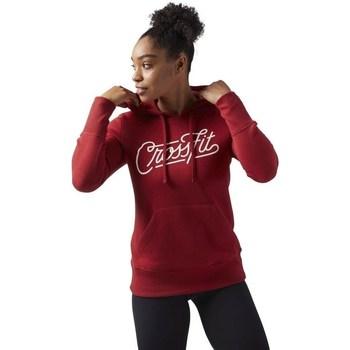 Vêtements Femme Sweats Reebok Sport Crossfit Rouge