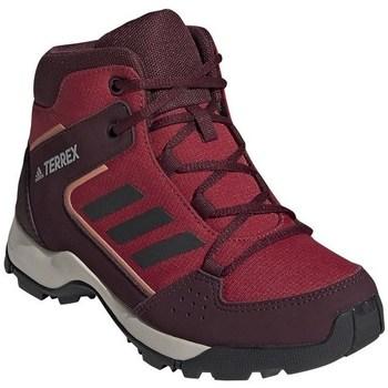 Chaussures Enfant Randonnée adidas Originals Hyperhiker K Bordeaux,Rouge