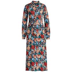 Vêtements Femme Robes longues King Louie Robe Midi Berkely Night Blue Bleu