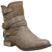 Chaussures Femme Bottines Kaporal Bottes Femme Ricky Marron Brun