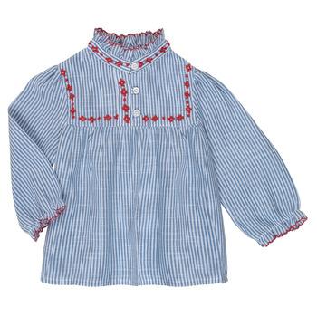 Vêtements Fille Tops / Blouses Cyrillus  EMERAUDE Bleu