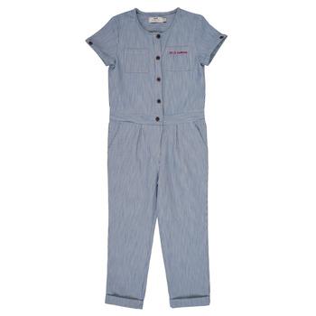 Vêtements Fille Combinaisons / Salopettes Cyrillus  FLO Bleu