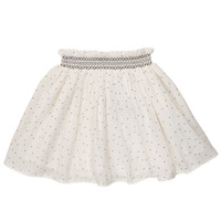 Vêtements Fille Jupes Cyrillus  FEE Blanc