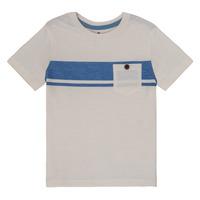 Vêtements Garçon T-shirts manches courtes Cyrillus  GALEN Blanc