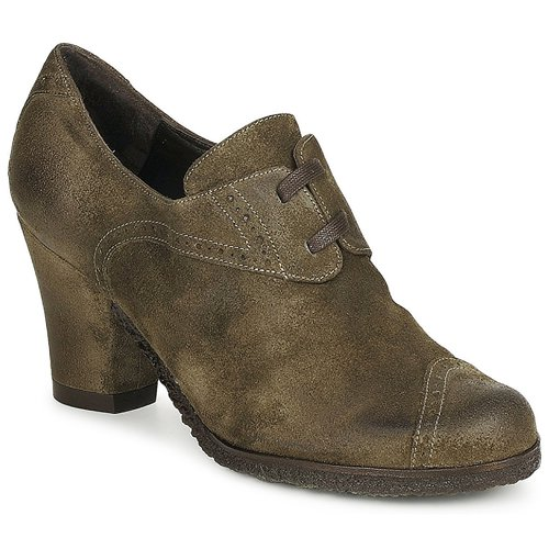 Chaussures Femme Low boots Audley RINO LACE Taupe