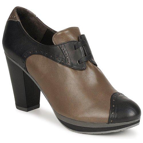 Audley GETA LACE Marron  - Chaussures Low boots Femme