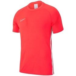 Vêtements Garçon T-shirts manches courtes Nike JR Academy 19 Orange