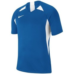 Vêtements Garçon T-shirts manches courtes Nike JR Legend Blanc,Bleu