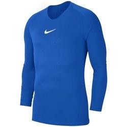 Vêtements Garçon T-shirts manches longues Nike JR Dry Park First Layer Bleu