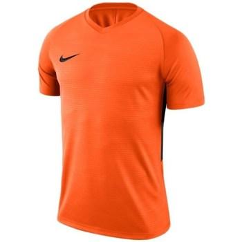 Vêtements Homme T-shirts manches courtes Nike Dry Tiempo Prem Jersey Orange