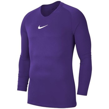 Vêtements Homme T-shirts manches longues Nike Dry Park First Layer Violet