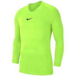 Vêtements Homme T-shirts manches longues Nike Dry Park First Layer Vert clair