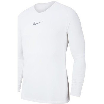 Vêtements Homme T-shirts manches longues Nike Dry Park First Layer Blanc