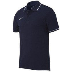 Vêtements Homme Polos manches courtes Nike Team Club 19 Noir