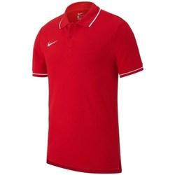 Vêtements Homme Polos manches courtes Nike Team Club 19 Rouge