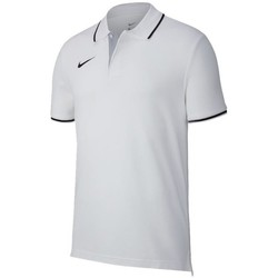 Vêtements Homme Polos manches courtes Nike Team Club 19 Blanc