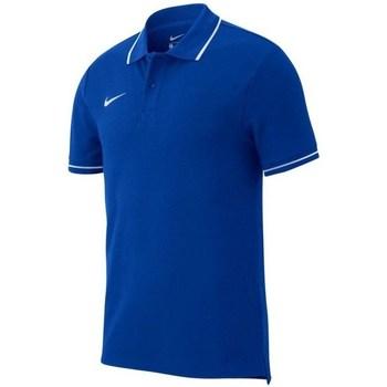 Vêtements Homme Polos manches courtes Nike Team Club 19 Polo Bleu