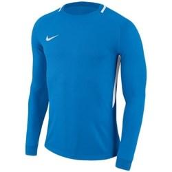 Vêtements Garçon T-shirts manches longues Nike Dry Park Iii Bleu