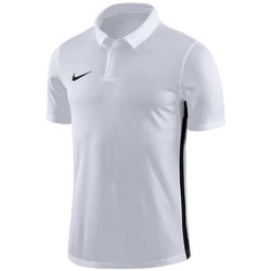 Vêtements Homme Polos manches courtes Nike Dry Academy 18 Blanc