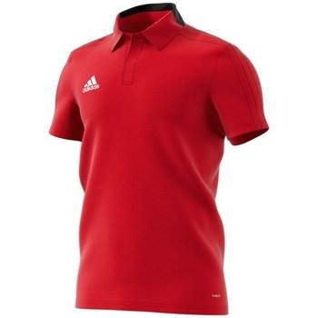 Vêtements Homme Polos manches courtes adidas Originals Condivo 18 Polo Rouge