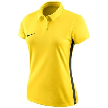 Vêtements Femme Polos manches courtes Nike Womens Dry Academy 18 Polo Jaune