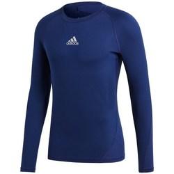 Vêtements Homme T-shirts manches longues adidas Originals Baselayer Alphaskin Bleu marine