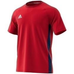 Vêtements Homme T-shirts manches courtes adidas Originals Tango Tape Tee Rouge