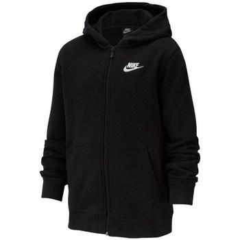 Vêtements Garçon Sweats Nike JR Nsw Hoodie Club Noir