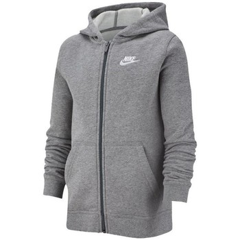 Vêtements Garçon Sweats Nike JR Nsw Hoodie Club Gris