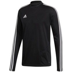 Vêtements Homme T-shirts manches longues adidas Originals Tiro 19 Training Top Noir