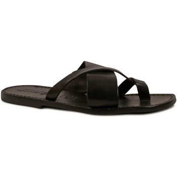 Chaussures Homme Tongs Gianluca - L'artigiano Del Cuoio 545 U NERO CUOIO nero