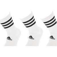 Accessoires textile Homme Chaussettes adidas Originals 3s csh crw white x3 Blanc