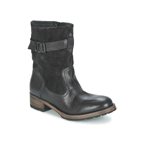 Chaussures Femme Boots Pataugas DECK Noir