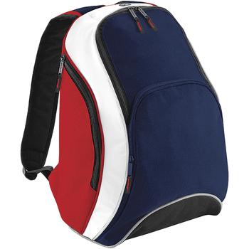 Sacs Sacs à dos Bagbase BG571 Bleu marine/Rouge/Blanc