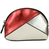 Sacs Femme Porte-monnaie Eastern Counties Leather  Rouge / cuivre / blanc