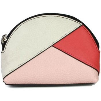 Sacs Femme Porte-monnaie Eastern Counties Leather  Blanc / corail / rose