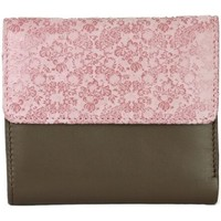 Sacs Femme Portefeuilles Eastern Counties Leather  Taupe / rose