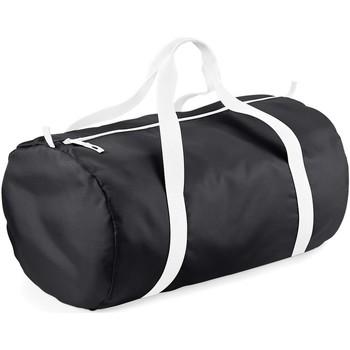 Sacs Sacs de voyage Bagbase BG150 Noir/Blanc
