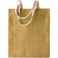 Sacs Femme Cabas / Sacs shopping Kimood  Naturel/Vert militaire