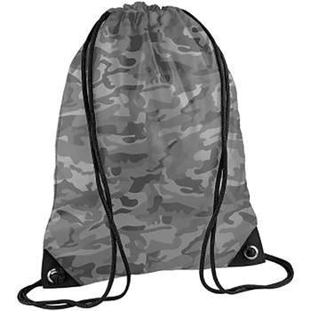 Sacs Enfant Sacs de sport Bagbase BG10 Camouflage arctique