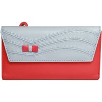 Sacs Femme Porte-monnaie Eastern Counties Leather  Bleu/ Rouge