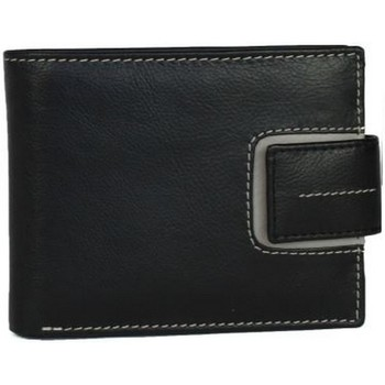 Sacs Homme Portefeuilles Eastern Counties Leather  Noir / gris