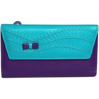 Sacs Femme Porte-monnaie Eastern Counties Leather  Turquoise/ Violet