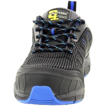 Chaussures Homme Chaussures de sécurité Grafters  Noir/Bleu