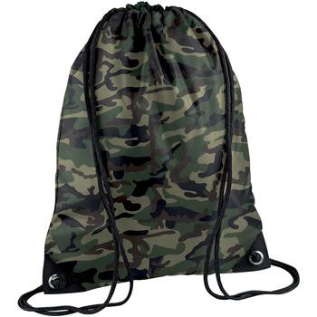 Sacs Enfant Sacs de sport Bagbase BG10 Camouflage jungle