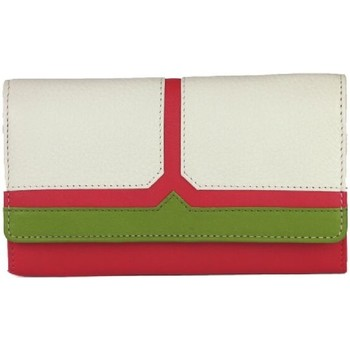 Sacs Femme Portefeuilles Eastern Counties Leather  Rose / blanc / vert
